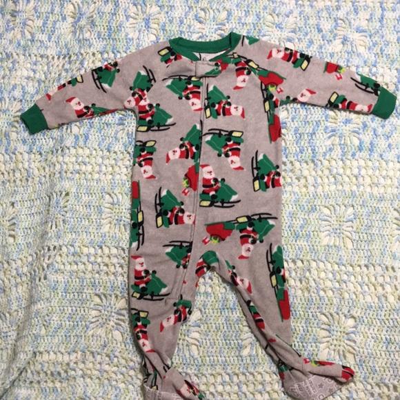 4b345eb48b80f Carter's Pajamas | Carter Christmas Footie 12 Months | Poshmark